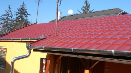 PVC lemezes tető