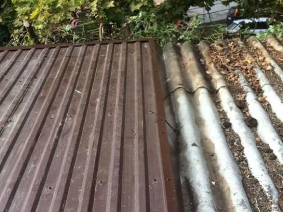 Trapézlemezes tető4